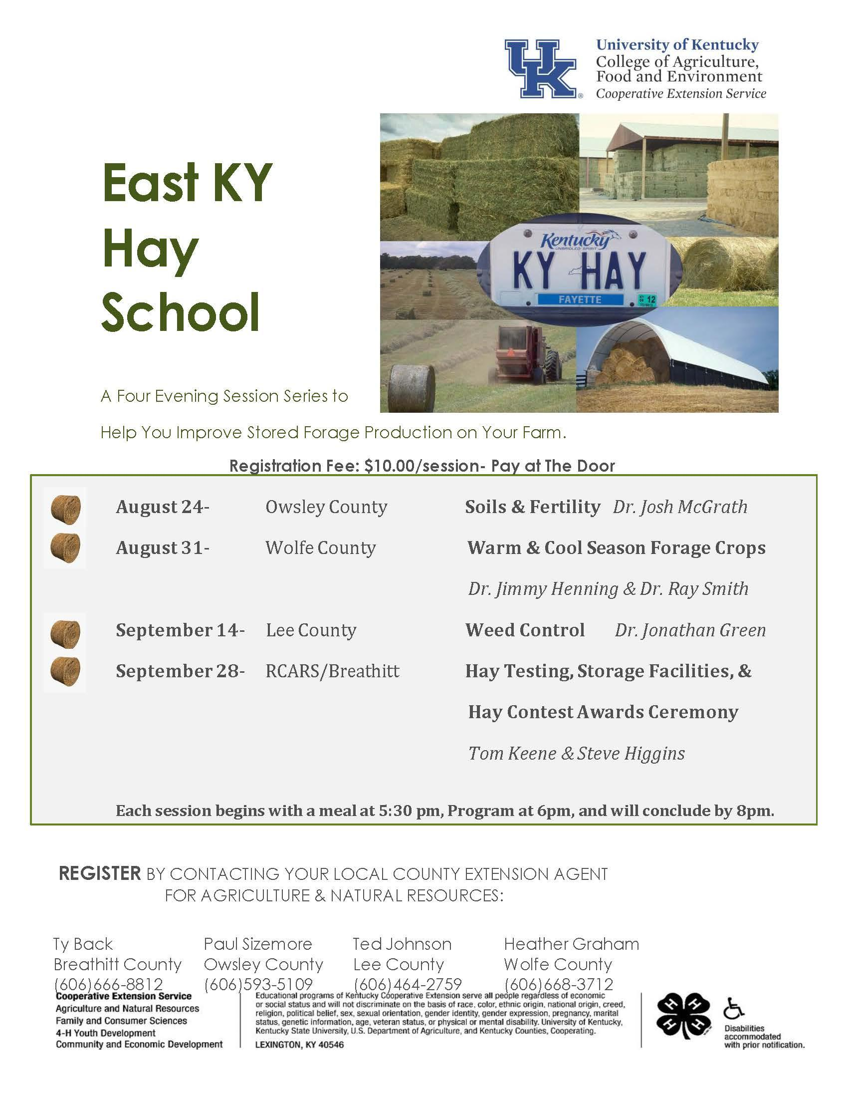 East KY Hay School